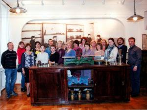 Участники семинара в музее истории ФБУ «Тест-С.-Петербург»