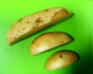 Пробы картофеля