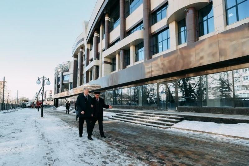 Новый учебно-лабораторный корпус СтГАУ