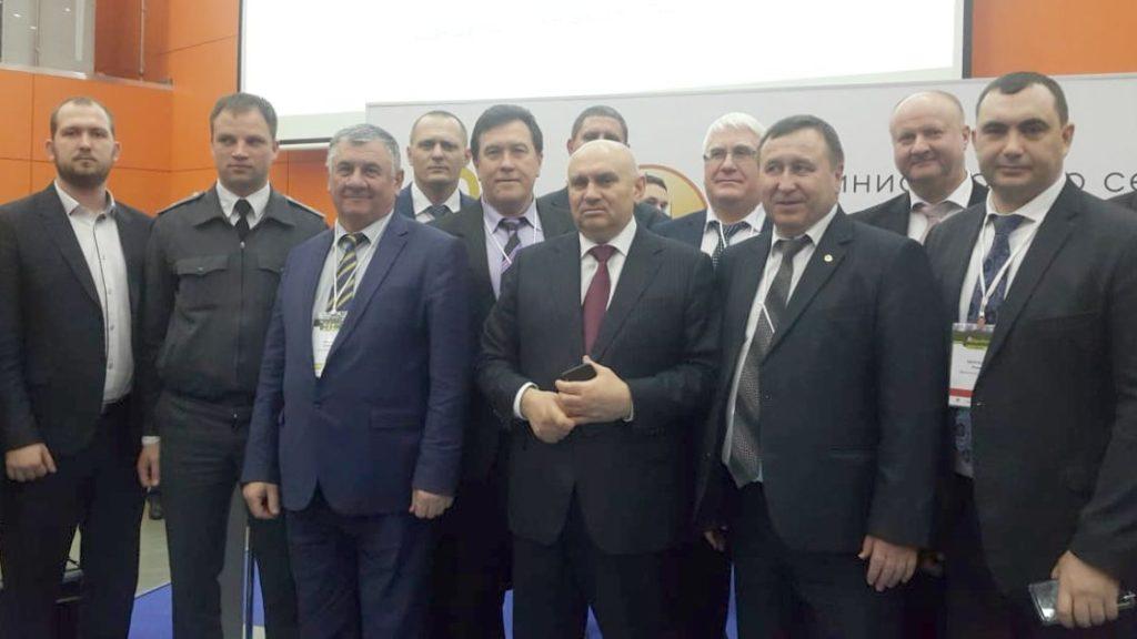 Делегация ставропольского минсельхоза на всероссийском агрономическом совещании 2019