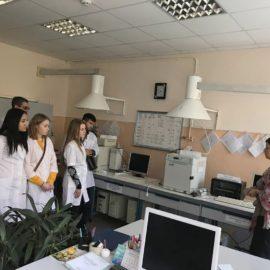 Экскурсия студентов