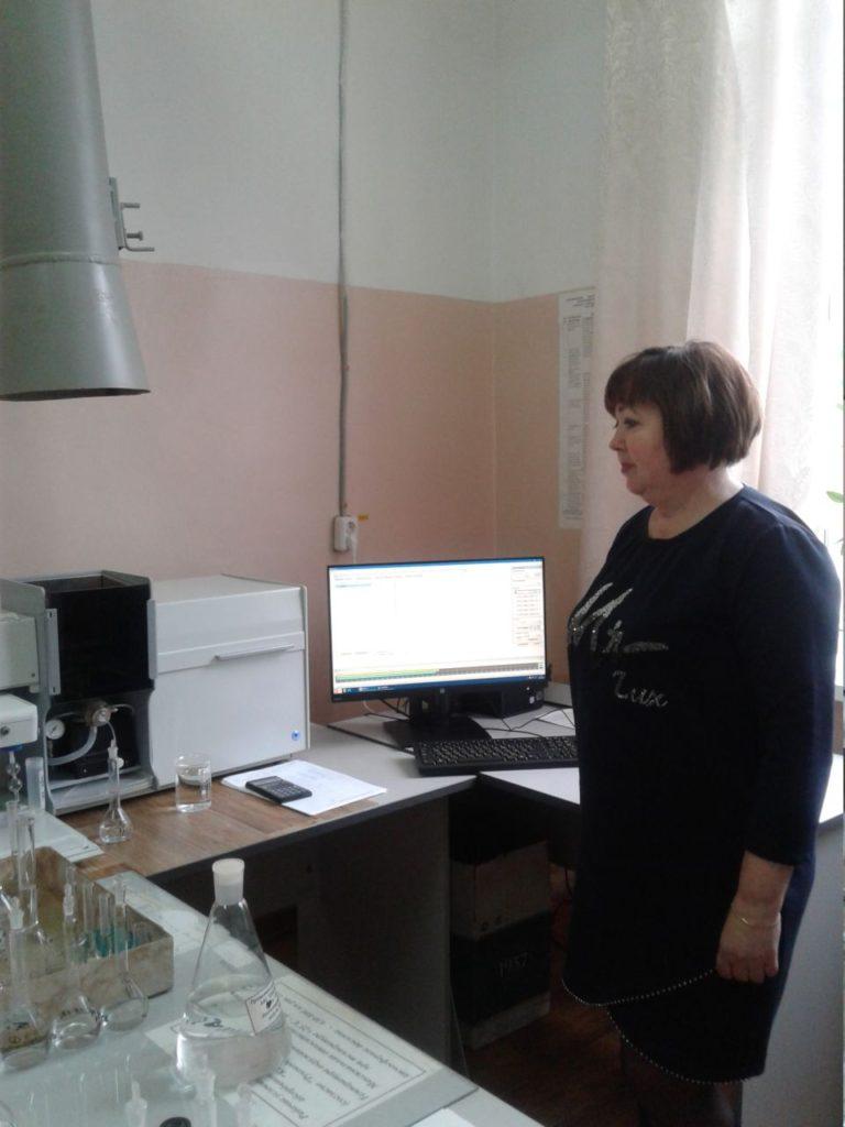 Экскурсия по лаборатории