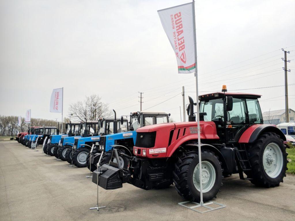 Белорусские трактора