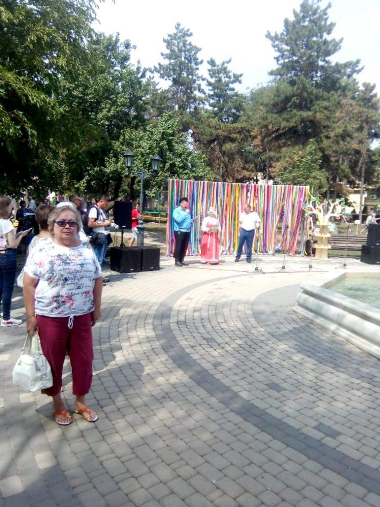 На празднике «Ставропольское яблоко»