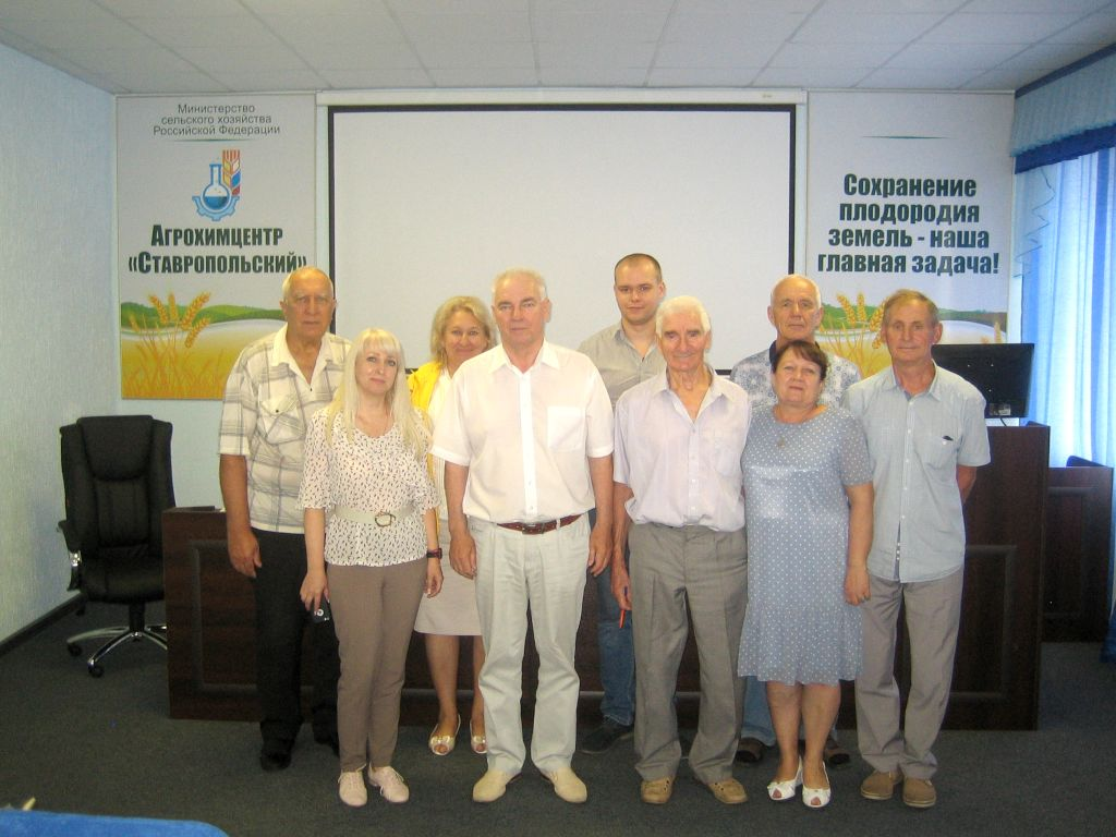 Ежемесячные семинары-совещания с районными агрохимиками