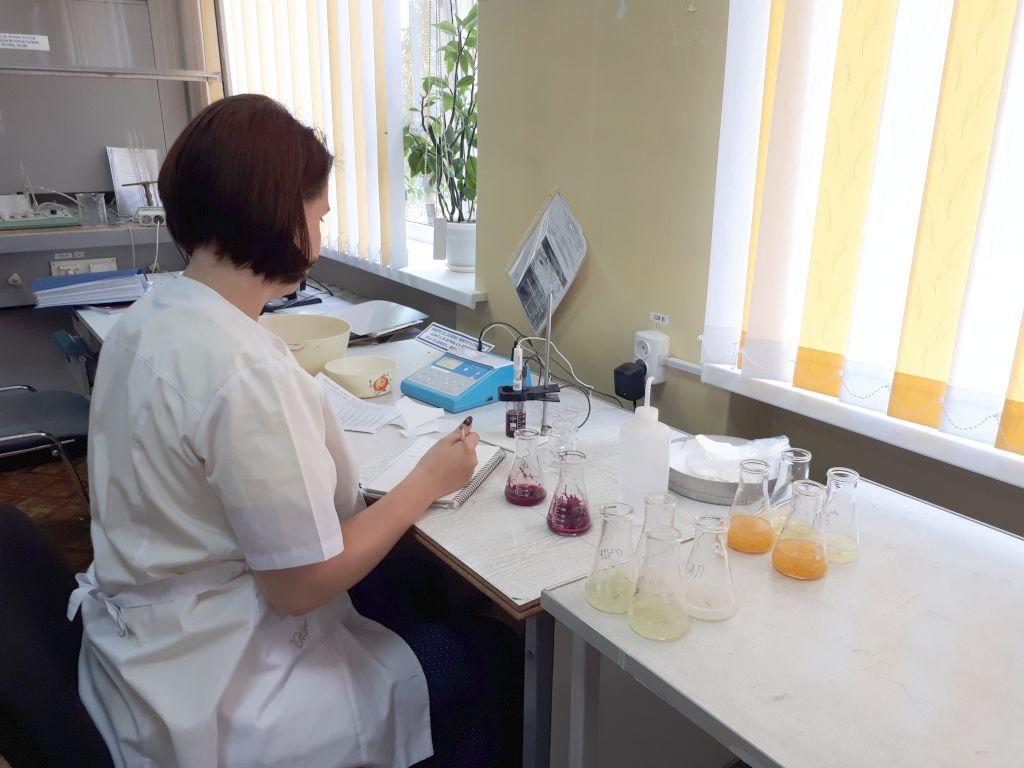 Определение нитратного азота в пробах плодоовощной продукции