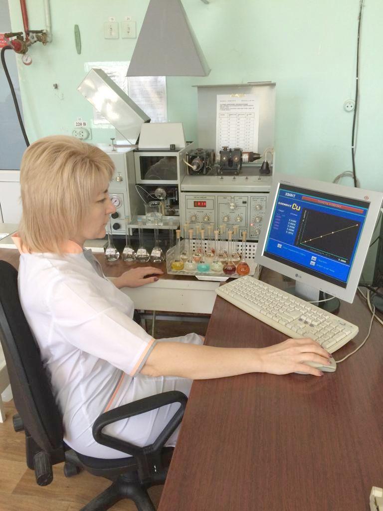 Определение микроэлементов в пробах органо-минеральных удобрений