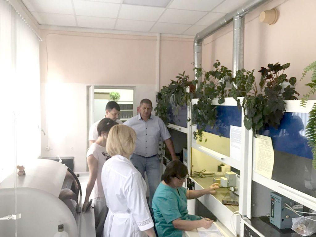 Экскурсия в испытательном центре (лаборатории) ФГБУ ГЦАС «Ставропольский»