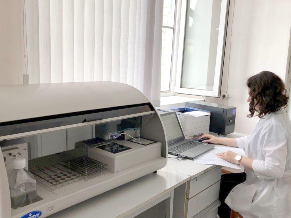 Спектрофотометрический метод. Определение различных показателей в пробах вочв, в том числе обменный магний и кальций