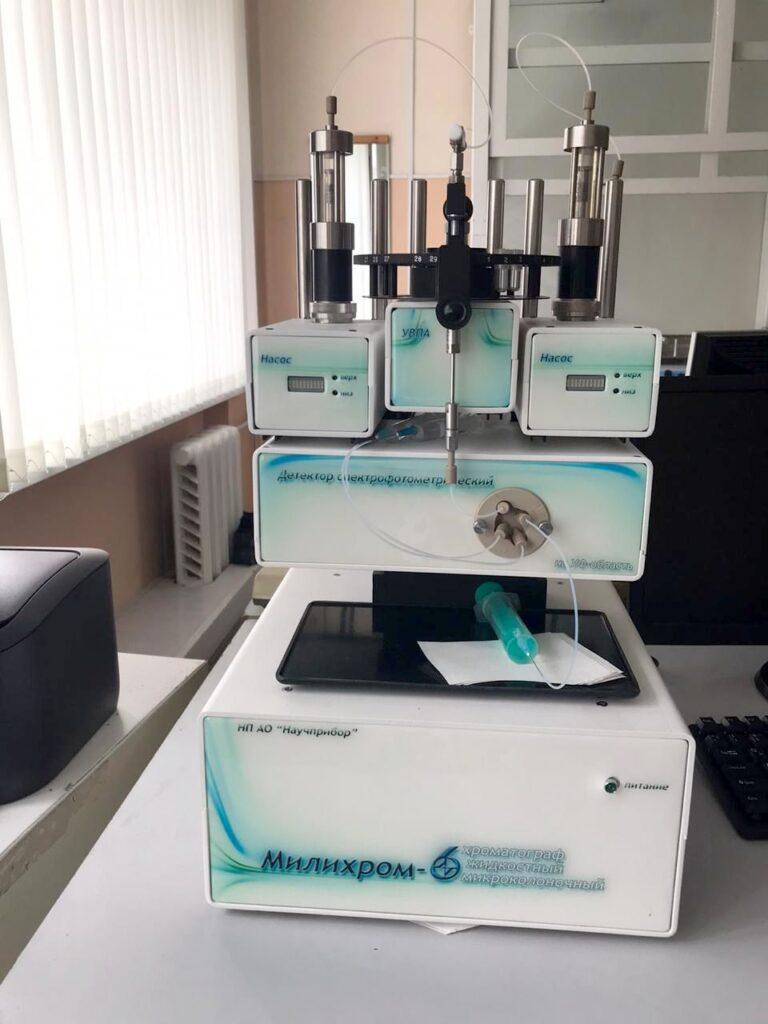 Хроматограф жидкостный микроколоночный Милихром-6
