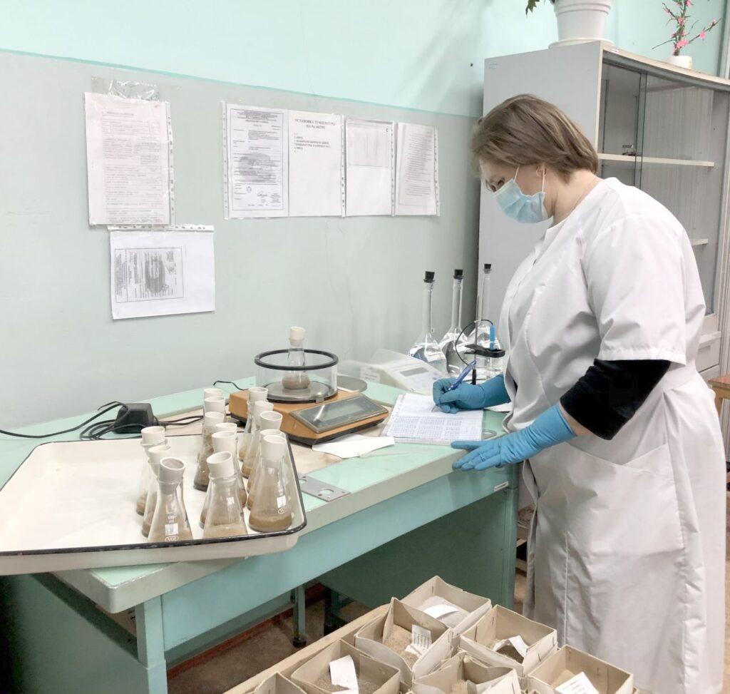 Определение углекислоты карбонатов. Агрохимик I категории ИЦ (лаборатории)‑ Надежда Багдасарова