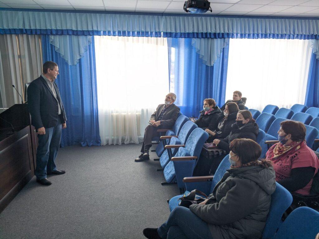 Приветственное слово руководителя агрохимцентра Василия Егорова
